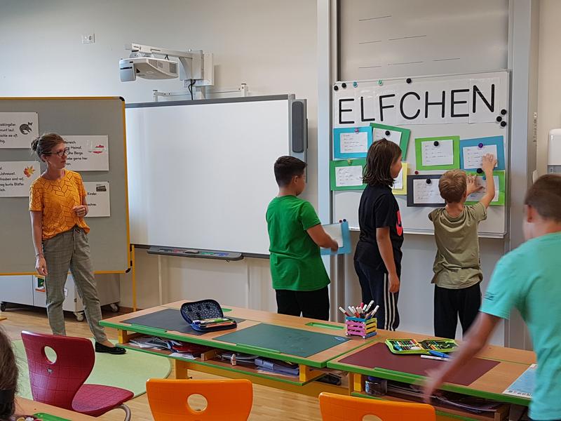 Forschungsstunde Deutsch: Das Elfchen