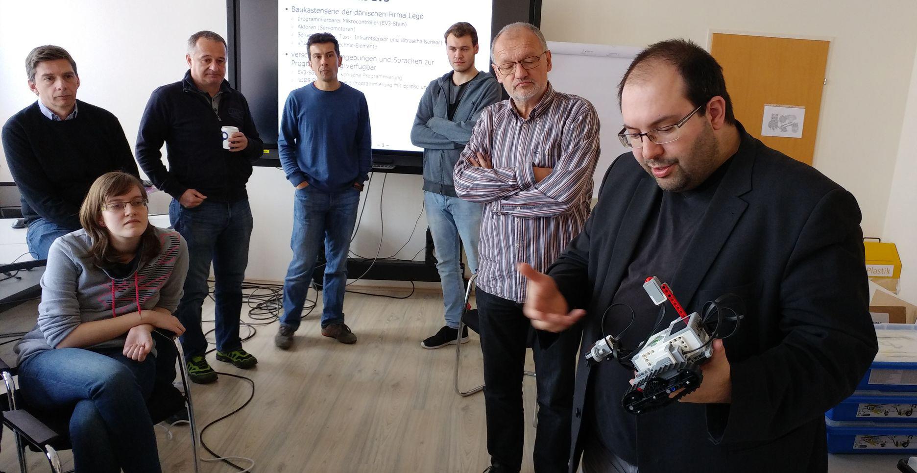 EIS-Workshop mit Bernhard Löwenstein