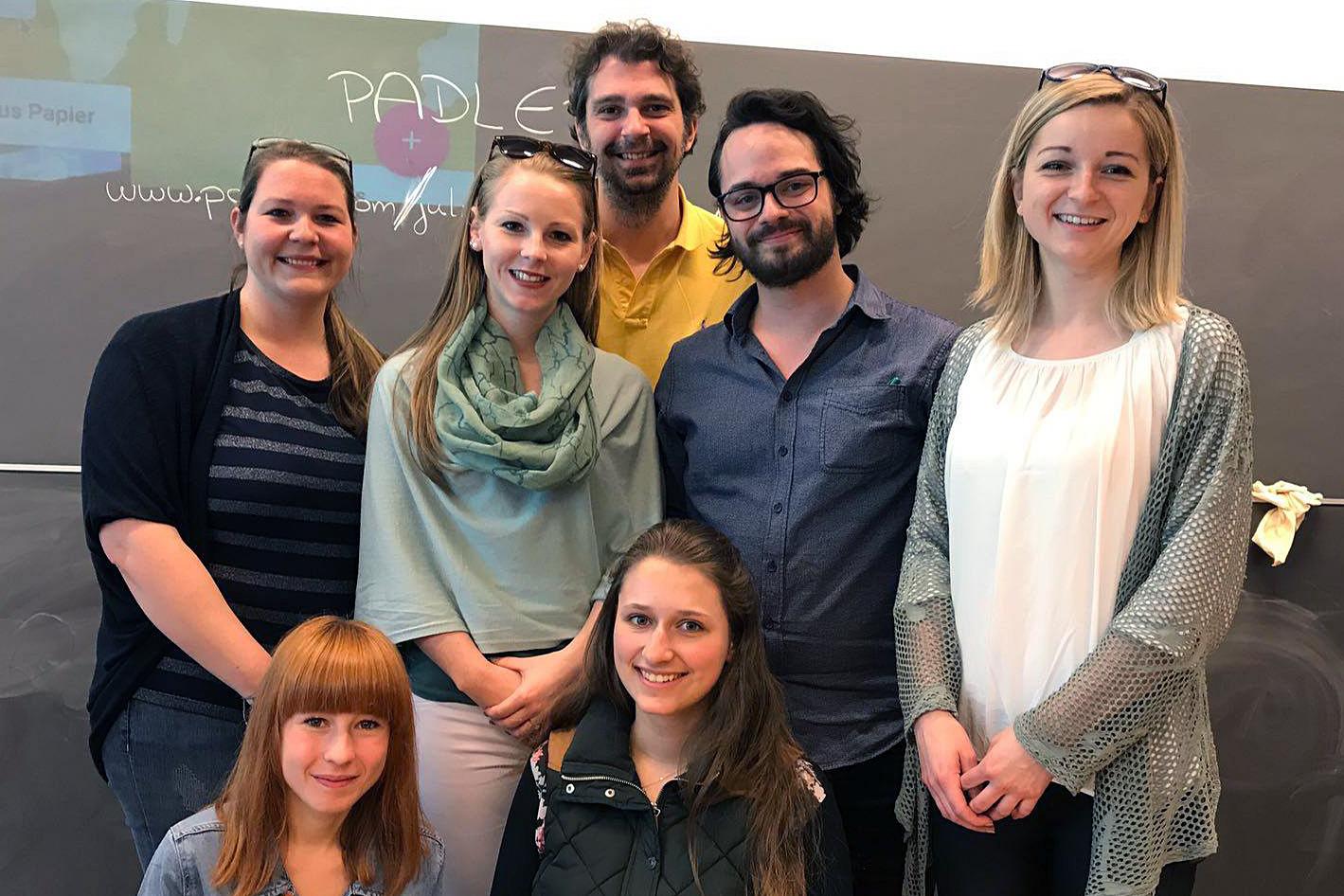 Studierende der PHNÖ in Brixen